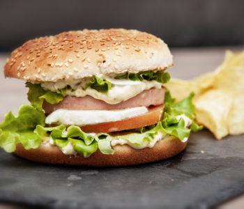 burger al prosciutto cotto