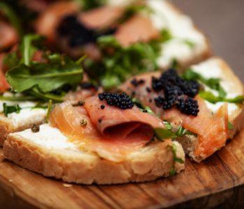 Crostino al salmone - Padelle Volanti