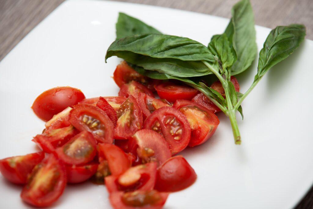 filetto di orata con pomodorini e bottarga - Padelle Volanti