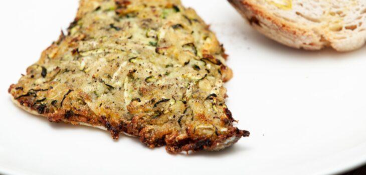 Filetto di orata in crosta di zucchine - Padelle Volanti