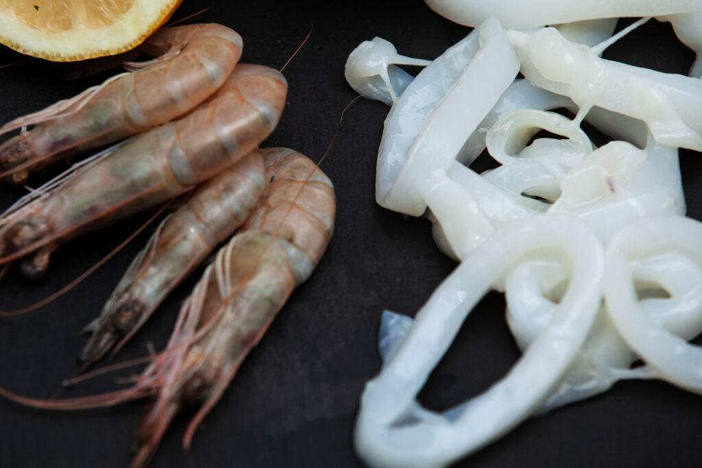 Gnocchetti sardi con gamberi e calamari - Padelle Volanti