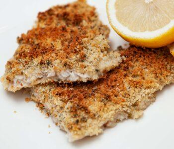 Filetto di sogliola gratinata al limone - Padelle Volanti