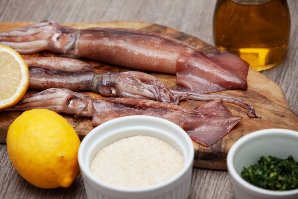 Calamari ripieni - Padelle Volanti